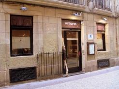 Restaurante Urbano en la calle 31 de agosto de la parte vieja donostiarra